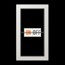 Рамка 2-ая (двойная) , цвет Светло-серый, FD Design, Jung