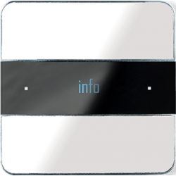 Basalte 301-24 Deseo лицевая панель - white glass
