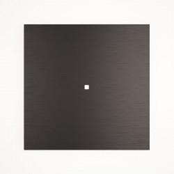 1 - клавишный выключатель Tense KNX INTAB1 Aluminium Black