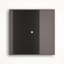 1 - клавишный выключатель Tense KNX INTGB1 Glass Black