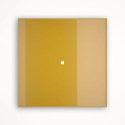 1 - клавишный выключатель Tense KNX INTGG1 Glass Gold