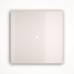 1 - клавишный выключатель Tense KNX INTGW1 Glass White