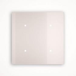 4 - клавишный выключатель Tense KNX INTGW42 Glass White