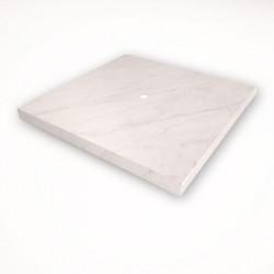 1 - клавишный выключатель Tense KNX INTSCBM1 Stone Carrara Bianco Marble