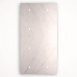 8 - клавишный выключатель Tense KNX INTSCBM8 Stone Carrara Bianco Marble