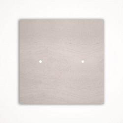 2 - клавишный выключатель Tense KNX INTSFW2 Stone French White