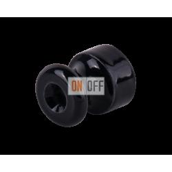 Изолятор Werkel Retro (10 шт.) пластик, черный