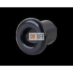 Втулка для вывода кабеля из стены Werkel Retro (2 шт.) керамика, черный
