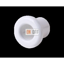 Втулка для вывода кабеля из стены Werkel Retro (2 шт.) керамика,белый